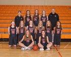 Libertyville Wildcats Girls Varsity Basketball Winter 18-19 team photo.