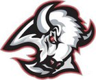 Buffalo Bison Girls Varsity Basketball Winter 18-19 team photo.
