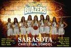 Sarasota Christian Blazers Girls Varsity Basketball Winter 18-19 team photo.