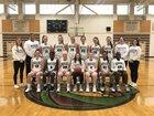Edmonds-Woodway Warriors Girls Varsity Basketball Winter 18-19 team photo.