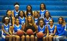 Forrest City Mustangs Girls Varsity Basketball Winter 18-19 team photo.