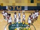 Washington Warriors Girls Varsity Basketball Winter 18-19 team photo.