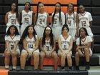 Orange Vista Coyotes Girls Varsity Basketball Winter 18-19 team photo.