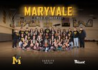 Maryvale Panthers Girls Varsity Basketball Winter 18-19 team photo.