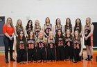 Cokeville Panthers Girls Varsity Basketball Winter 18-19 team photo.