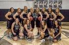 Marshall Bobcats Girls Varsity Basketball Winter 18-19 team photo.