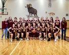 Big Horn Rams Girls Varsity Basketball Winter 18-19 team photo.