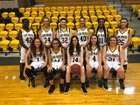 Emerson Pirates Girls Varsity Basketball Winter 18-19 team photo.