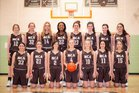 Mt. Carmel Cubs Girls Varsity Basketball Winter 18-19 team photo.