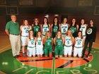 Valley Springs Tigers Girls Varsity Basketball Winter 18-19 team photo.