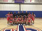 Glenn Eagles Girls Varsity Basketball Winter 18-19 team photo.