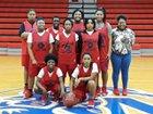 McClellan Crimson Lions Girls Varsity Basketball Winter 18-19 team photo.