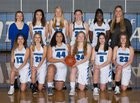 Bothell Cougars Girls Varsity Basketball Winter 18-19 team photo.