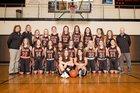 Worland Warriors Girls Varsity Basketball Winter 18-19 team photo.