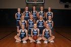 Lynden Christian Lyncs Girls Varsity Basketball Winter 18-19 team photo.
