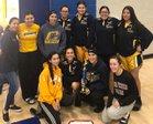Calipatria Hornets Girls Varsity Basketball Winter 18-19 team photo.