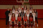 Farmington Cardinals Girls Varsity Basketball Winter 18-19 team photo.