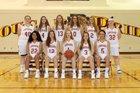 Pulaski County Cougars Girls Varsity Basketball Winter 18-19 team photo.