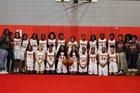Winnfield Tigers Girls Varsity Basketball Winter 18-19 team photo.