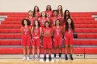 Carrollwood Day Patriots Girls Varsity Basketball Winter 18-19 team photo.