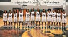 Mansfield Wolverines Girls Varsity Basketball Winter 18-19 team photo.
