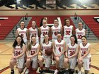 Snohomish Panthers Girls Varsity Basketball Winter 18-19 team photo.