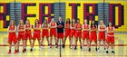 Chaparral Firebirds Girls Varsity Basketball Winter 18-19 team photo.