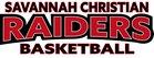 Savannah Christian Raiders Girls Varsity Basketball Winter 18-19 team photo.