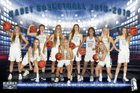 Air Academy Kadets Girls Varsity Basketball Winter 18-19 team photo.