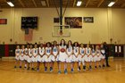 Yonkers Montessori Academy Eagles Girls Varsity Basketball Winter 18-19 team photo.