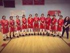 Pine Hill Warriors Girls Varsity Basketball Winter 18-19 team photo.