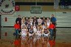 Lingle-Fort Laramie Doggers Girls Varsity Basketball Winter 18-19 team photo.