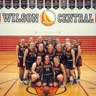 Wilson Lakemen Girls Varsity Basketball Winter 18-19 team photo.