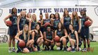 Little Rock Christian Academy Warriors Girls Varsity Basketball Winter 18-19 team photo.