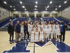 San Marcos Knights Girls Varsity Basketball Winter 18-19 team photo.