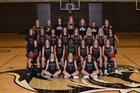 Bentonville Tigers Girls Varsity Basketball Winter 18-19 team photo.
