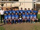 Los Angeles Romans Boys JV Soccer Winter 18-19 team photo.
