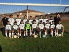 Greenfield Bruins Boys JV Soccer Winter 18-19 team photo.