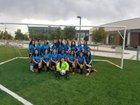 Del Norte Knights Girls Varsity Soccer Fall 19-20 team photo.