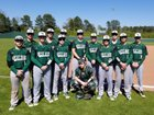 West Side Eagles Boys Varsity Baseball Spring 17-18 team photo.