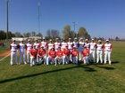 Midland Mustangs Boys Varsity Baseball Spring 17-18 team photo.