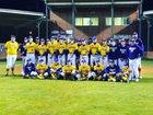 Ashdown Panthers Boys Varsity Baseball Spring 17-18 team photo.