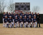 Elkins Elks Boys Varsity Baseball Spring 17-18 team photo.