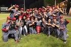 Redwood Giants Boys Varsity Baseball Spring 17-18 team photo.