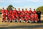 Jacksonville Titans Boys Varsity Baseball Spring 17-18 team photo.