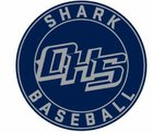 Oasis Sharks Boys Varsity Baseball Spring 17-18 team photo.