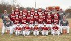 New Brighton Lions Boys Varsity Baseball Spring 17-18 team photo.