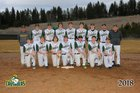 Northwest Christian School Crusaders Boys Varsity Baseball Spring 17-18 team photo.