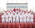 Petal Panthers Boys Varsity Baseball Spring 17-18 team photo.