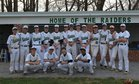 Atholton Raiders Boys Varsity Baseball Spring 17-18 team photo.